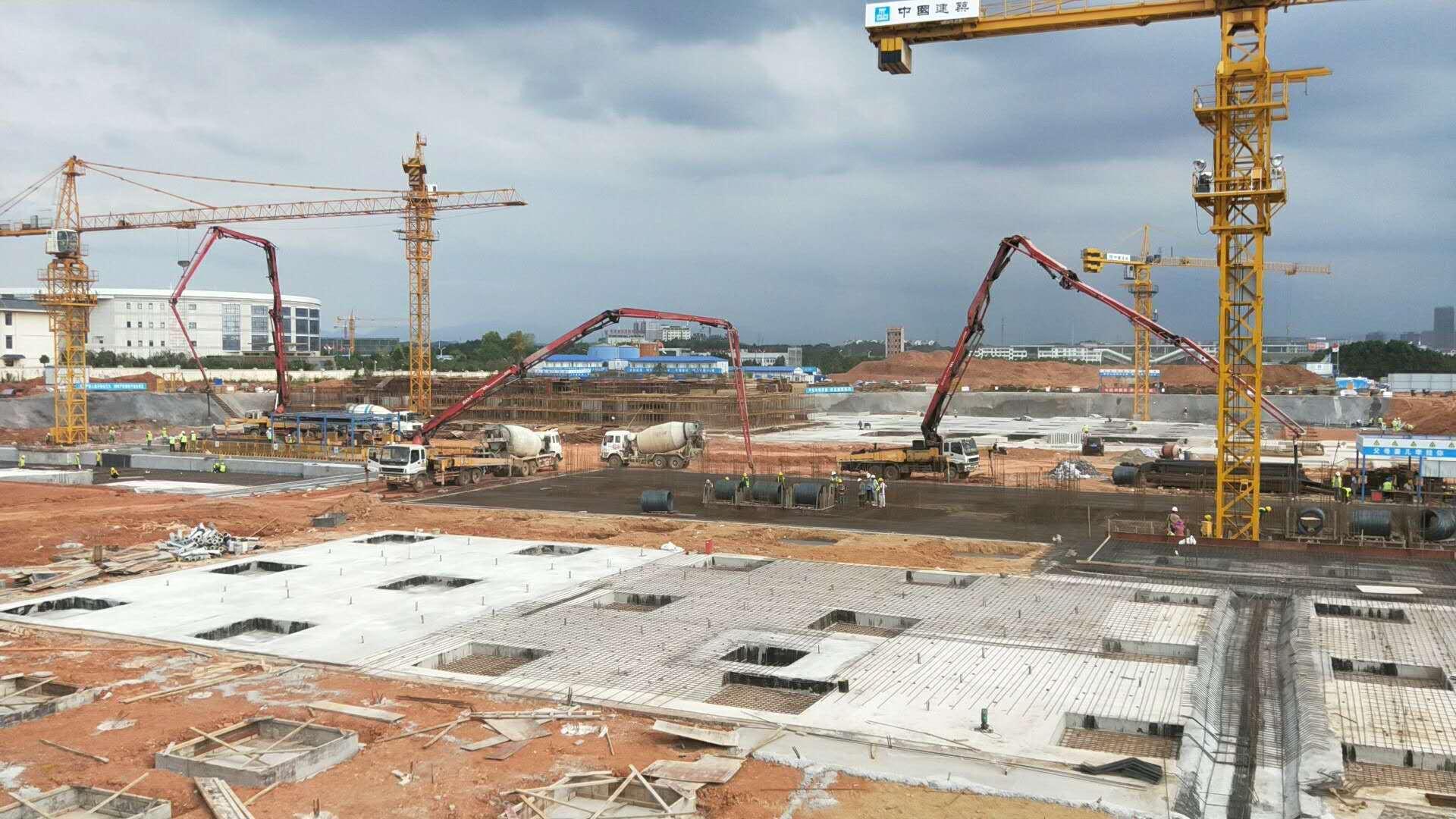 商品混凝土施工现场3